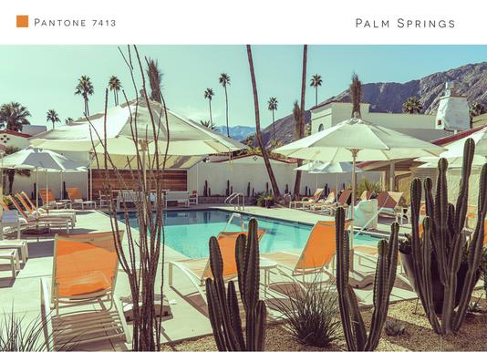 Palm Springs 7413 Canvas Print