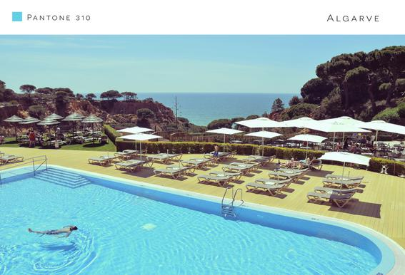 Algarve 1 Aluminium Print