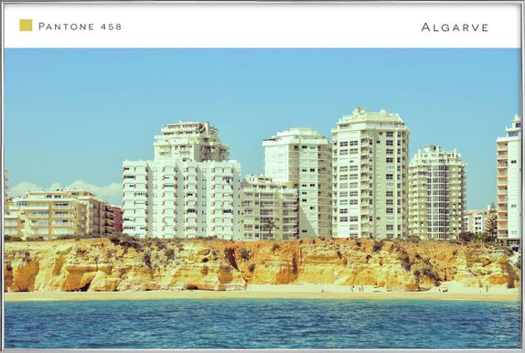 Algarve 2 Poster in Aluminium Frame