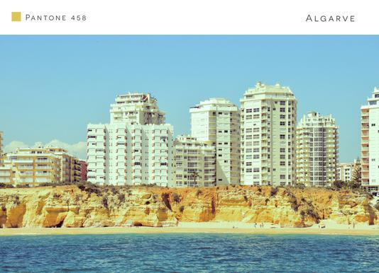 Algarve 2 canvas doek