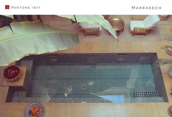 Marrakech Aluminium Print