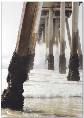 Hermosa Pier Notepad