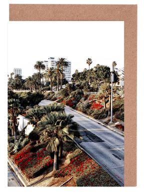 Santa Monica Red Greeting Card Set