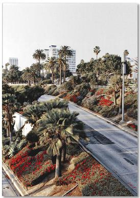 Santa Monica Red Notepad
