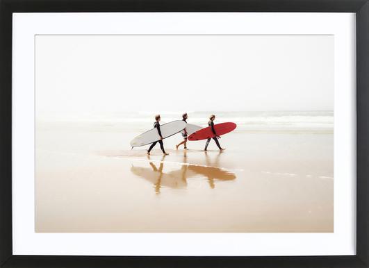 Surf Triple 1 Framed Print