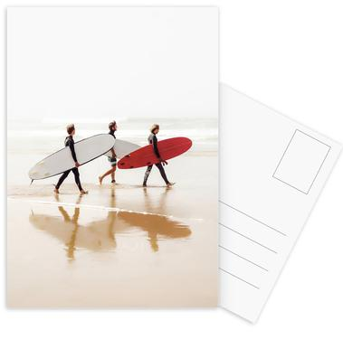Surf Triple 2 Postcard Set