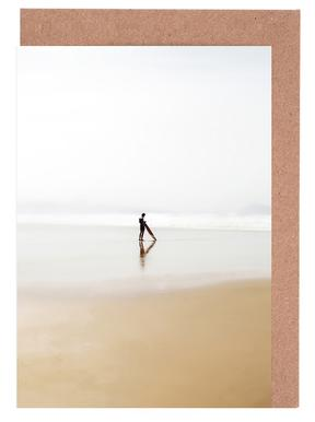 The Lone Surfer Greeting Card Set