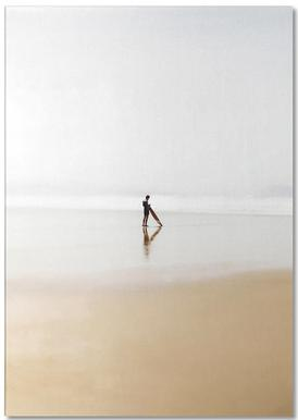 The Lone Surfer Notepad