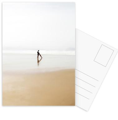 The Lone Surfer Postcard Set