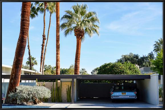 The Palm Springs Dream Framed Poster