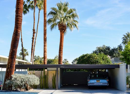 The Palm Springs Dream Canvas Print