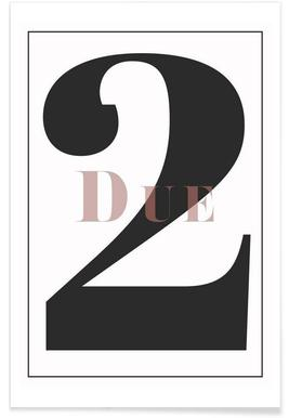 Numero 2 - Premium poster
