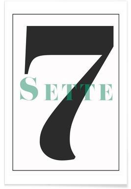 Numero 7 affiche