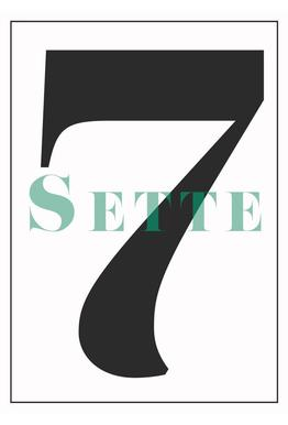 Numero 7 Acrylic Print