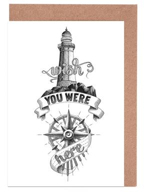 Wish you were here hand-lettering