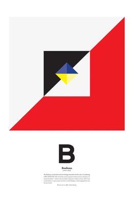 B - Bahaus Acrylic Print