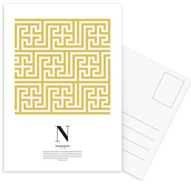 N - Neoclassicism Postcard Set