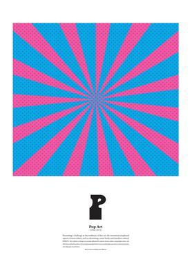 P - Pop Art Canvas Print