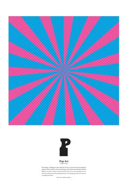 P - Pop Art Aluminium Print