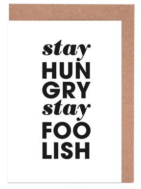 Stay Hungry Stay Foolish Steve Jobs