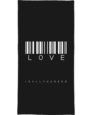 Barcode LOVE Black
