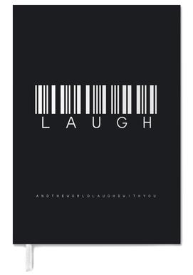 Barcode LAUGH Black agenda