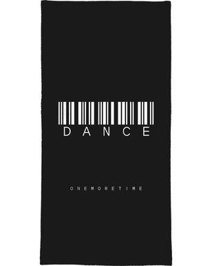 Barcode DANCE Black Bath Towel