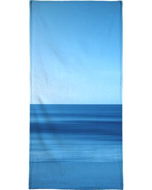 Seascape Blue Horizon Bath Towel
