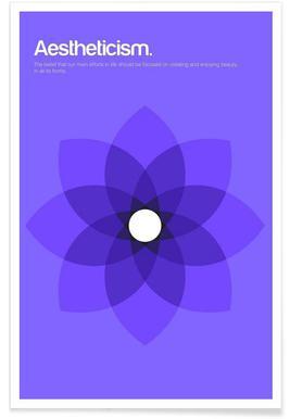 Ästhetik-Minimalistische Definition -Poster