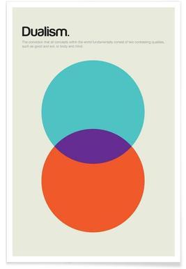 Dualism - Premium poster