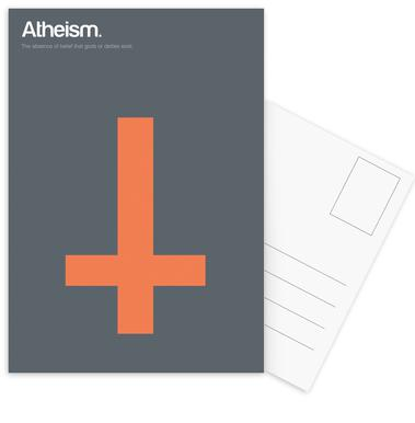 Atheism Postcard Set