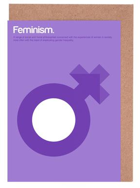 Feminism cartes de vœux