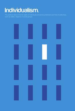 Individualism -Acrylglasbild
