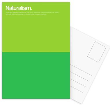 Naturalism cartes postales