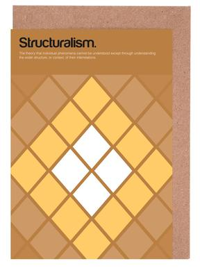 Structuralism Greeting Card Set