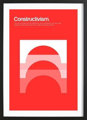 Constructivism Framed Print