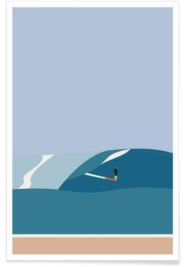 Fornøjelse Surf No. 03 Poster