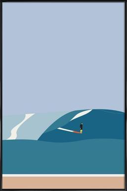 Fornøjelse Surf No. 03 Framed Poster