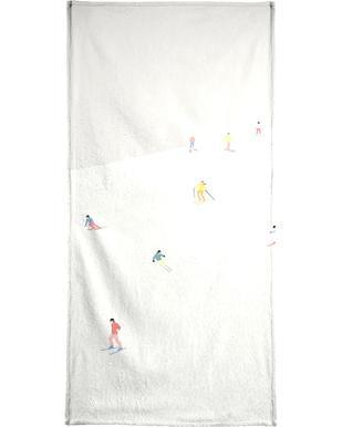 Skibakken Bath Towel