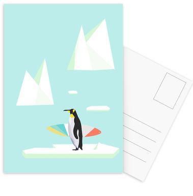 Pingvin Postcard Set