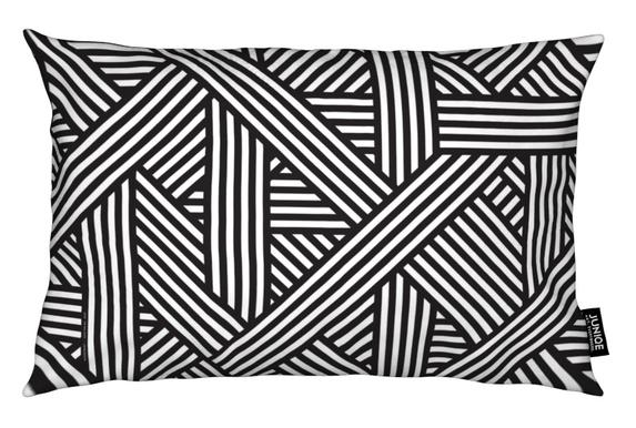 B&W Lines coussin