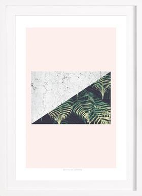 Tropical Geometry - Poster im Holzrahmen