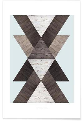 Wood N.2 - Premium Poster