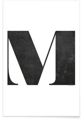 M - Premium poster