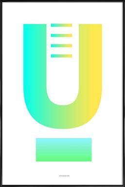 U -Bild mit Kunststoffrahmen