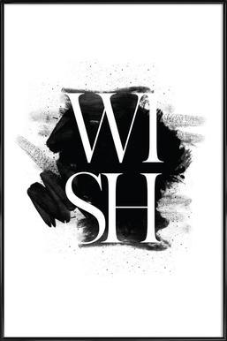 Wish - Affiche sous cadre standard