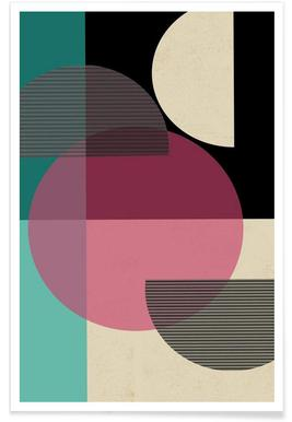 Circular Converge - Premium poster