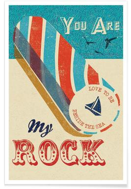You are my Rock -Poster