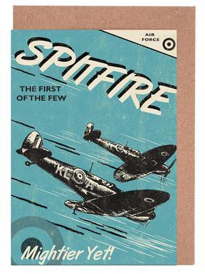 Spitfire cartes de vœux