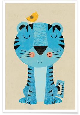 Tiger - Premium Poster
